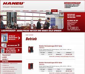 Haneu Werksverkauf